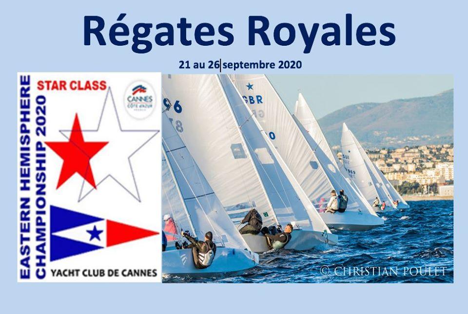 Régates Royales à Cannes en septembre 2020 !