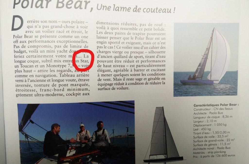 Le Star (presque) à l'honneur dans Yachting classique