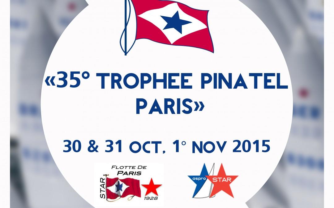 35° Trophée Pinatel Paris – 30-31 octobre& 1° novembre 2015