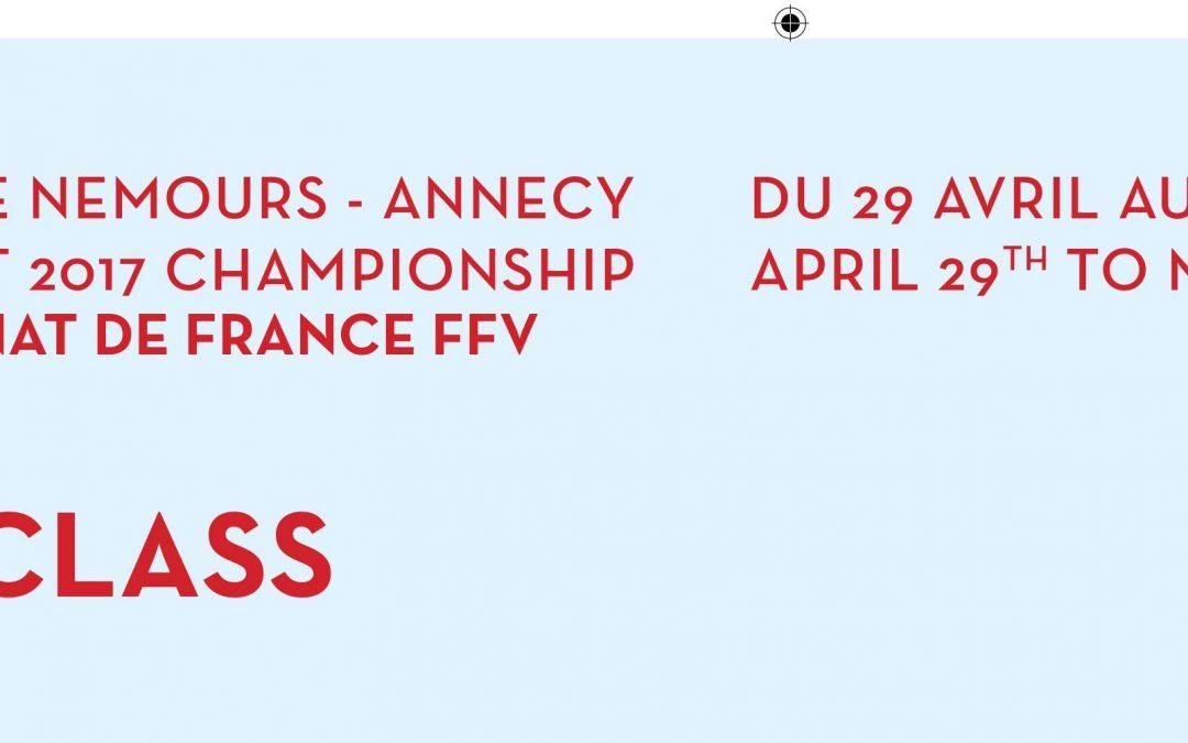 45° Ducs de Nemours : Championnat de France & 9° District Championship – 29 avril au 1° mai 2017
